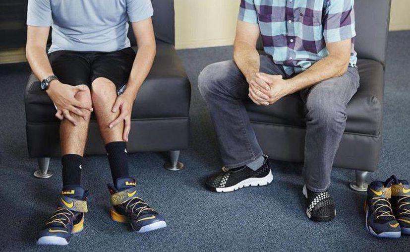 Nike creó un calzado especial para Matthew Walzer, un adolescente que sufre parálisis cerebral. (ansa.it)