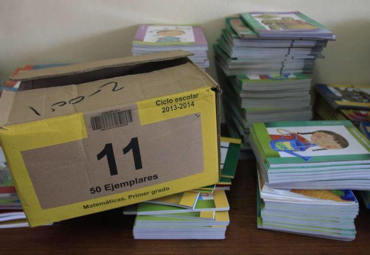 La SEyC distribuyó más de dos millones de libros. (Redacción/SIPSE)