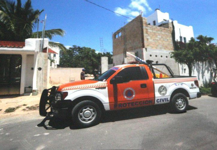 Vecinos del fraccionamiento Campestre del Tigrillo temen un hundimiento ante la construcción de viviendas en zonas cavernosas. (Octavio Martínez/SIPSE)