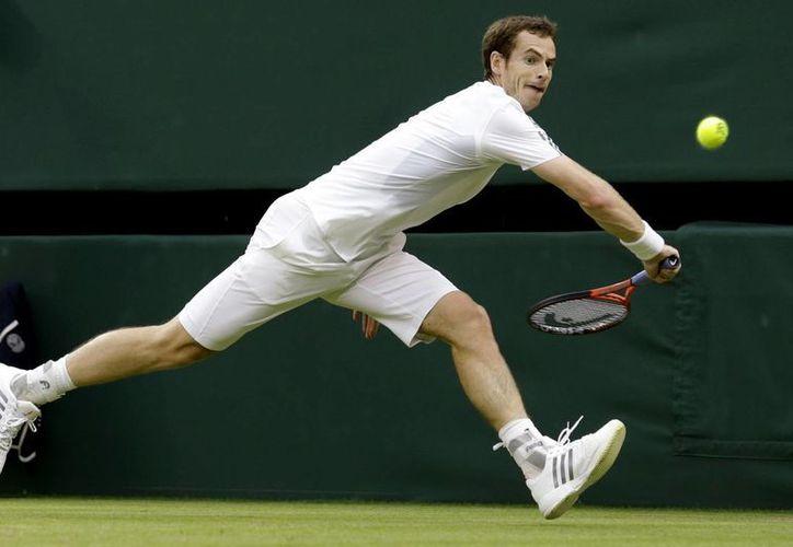 Murray, segunda favorito del certamen, no permitió sorpresas. (Agencias)