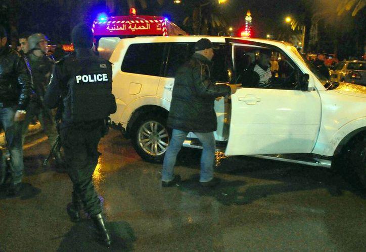 Este martes un atentado a la Guardia Presidencial tunesina dejó 12 efectivos muertos y otros 17 heridos. (AP)