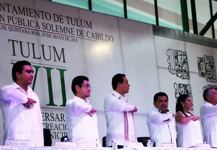 El segundo informe del presidente de Tulum se llevará a cabo el 19 de septiembre. (Redacción/SIPSE)