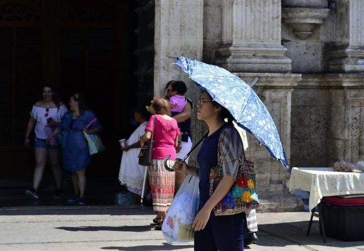 En los próximos días se sentirán temperaturas de hasta 35 grados en Yucatán. (Milenio Novedades)