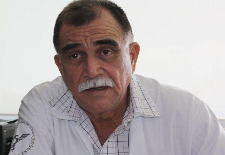 José Bolio Rosado, director del Hospital General, dijo que la incidencia en el número de casos es poca. (Alida Martínez/SIPSE)