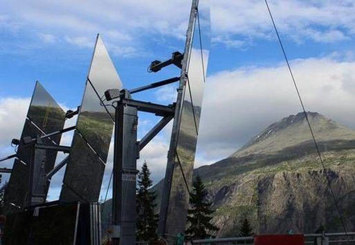 El valle de Rjukan se queda sin luz solar durante cinco meses al año. (RT)