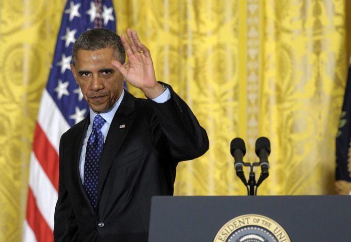"""El presidente Barack Obama, al iniciar su segundo mandato dijo que """"siempre supimos que cuando los tiempos cambian, nosotros también debemos hacerlo"""". (Agencias)"""