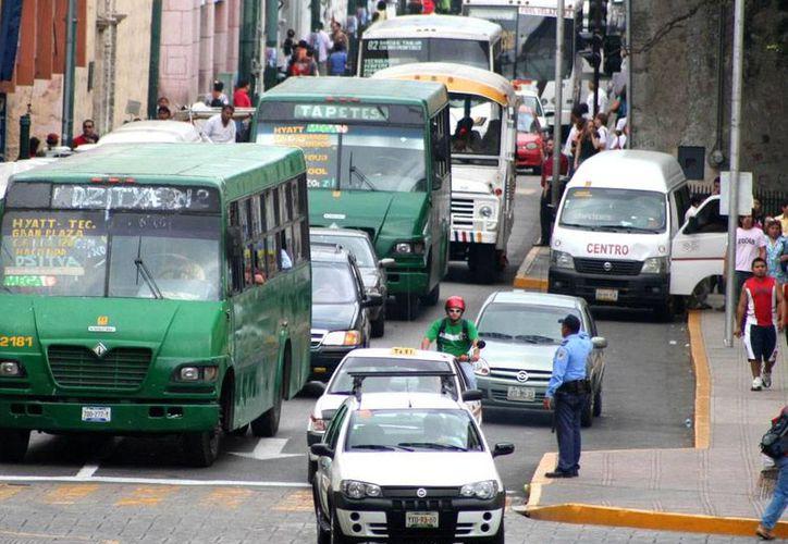 El Banco Mundial (BM) invierte unos 50 millones de pesos en proyectos de desarrollo agrícola y medio ambiente. La imagen, de una céntrica calle de l capital yucateca, está utilizada solo con fines ilustrativos. (Milenio Novedades)