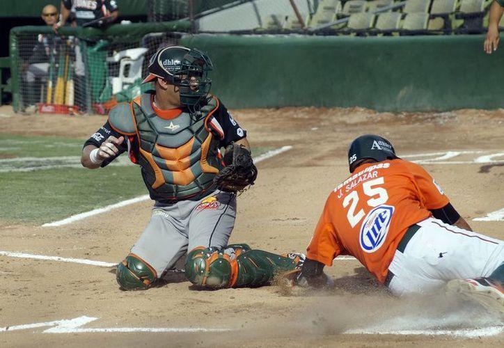 Leones de Yucatán ganó el segundo juego sabatino en emocionante juego ante Reynosa. (SIPSE)