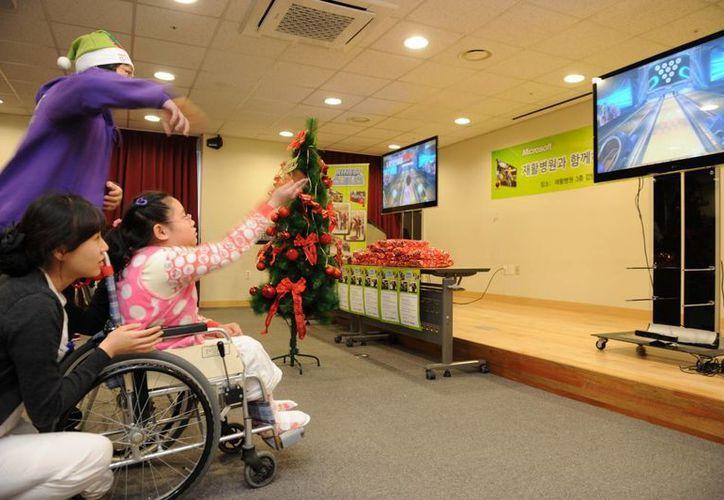 Por sus características, Kinect puede ser de gran utilidad para la rehabilitación de niños con parálisis cerebral. (pixar-planet.fr)