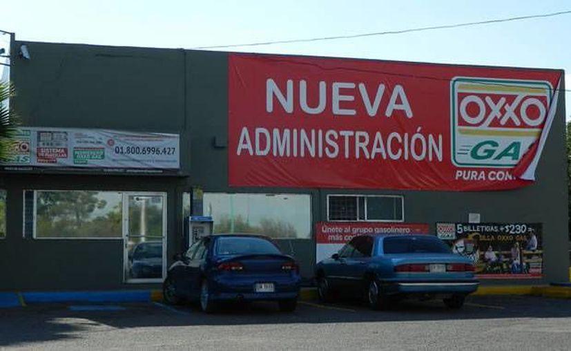 Imagen de una estación de servicio de Oxxo Gas, en Camargo, Tamaulipas. (Foto: www.impactonoticias)