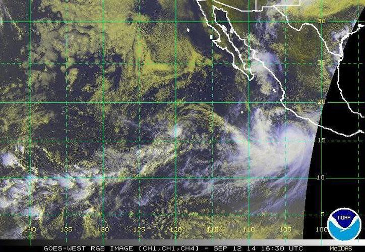 De acuerdo al Servicio Meteorológico Nacional se esperan lluvias intensas en estados como Guerrero, Jalisco, Colima y Michoacán. (ssd.noaa.gov)