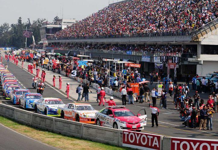 De las ocho carreras de Nascar programadas este año para México, la última se llevará a cabo en el Distrito Federal el 8 de noviembre. (autoorb.com/Foto de archivo)