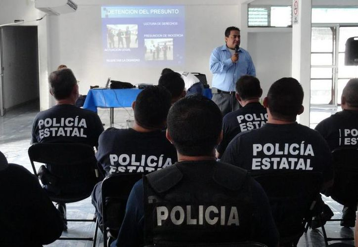 Los policías estatales y municipales son el primer eslabón del Nuevo Sistema de Justicia Penal en México. (Contexto/Internet)