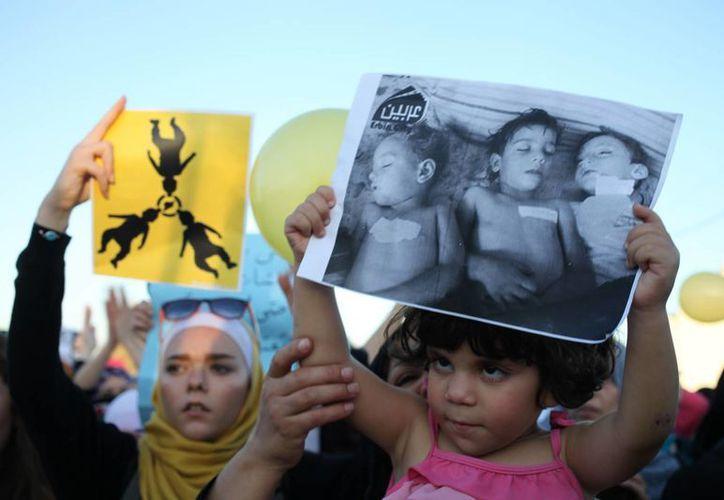 Más de siete mil niños han perdido la vida desde que el conflicto en Siria iniciara en marzo de 2011. (Agencias)