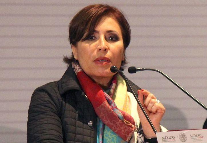 Rosario Robles, secretaria de Desarrollo Social, aseguró que , 4.2 millones de personas en México tienen acceso al programa de lucha contra el hambre. (Archivo/Notimex)