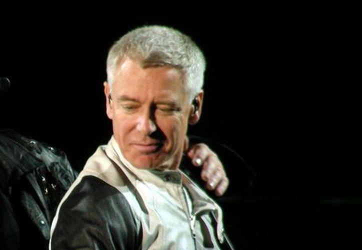 Adam Clayton, bajista de la banda irlandesa U2. (Internet)