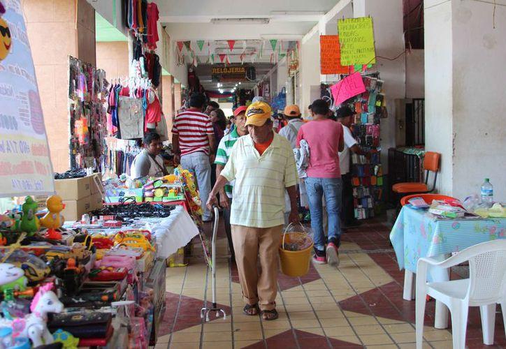 Los indígenas llegan a las ciudades urbanas a vender productos. (Benjamín Pat/SIPSE)