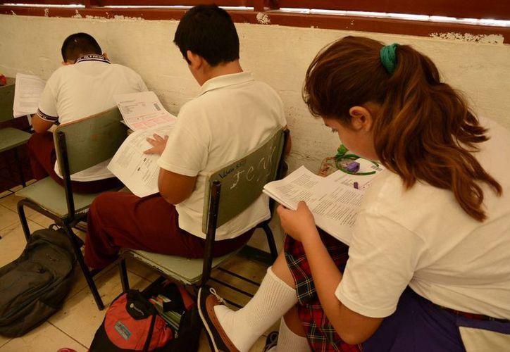 Detectan a alumnos con aptitudes sobresalientes en la zona 03. (Victoria González/SIPSE)