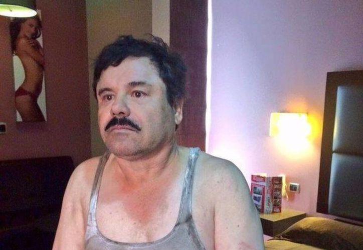 'El Chapo' fue recapturado el pasado 8 de enero tras protagonizar seis meses antes la más rocambolesca fuga carcelaria que se tenga memoria en este país. (Archivo/Agencias)