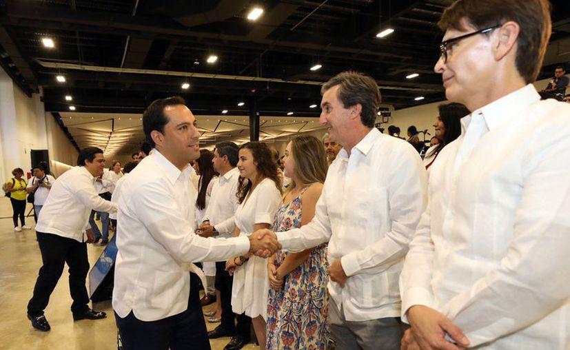 Mauricio Vila Dosal recordó que el Tianguis Turístico es un evento de gran importancia. (Novedades Yucatán)