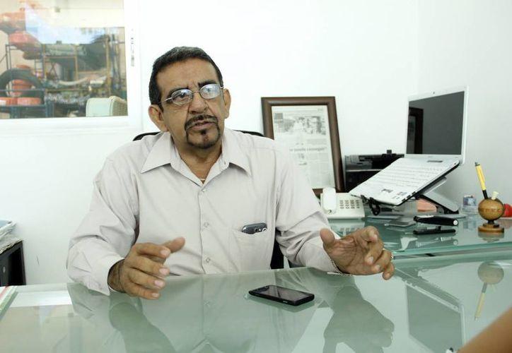 Carlos Leopoldo Pandiello Vázquez, nuevo dirigente de la Acomee. (SIPSE)