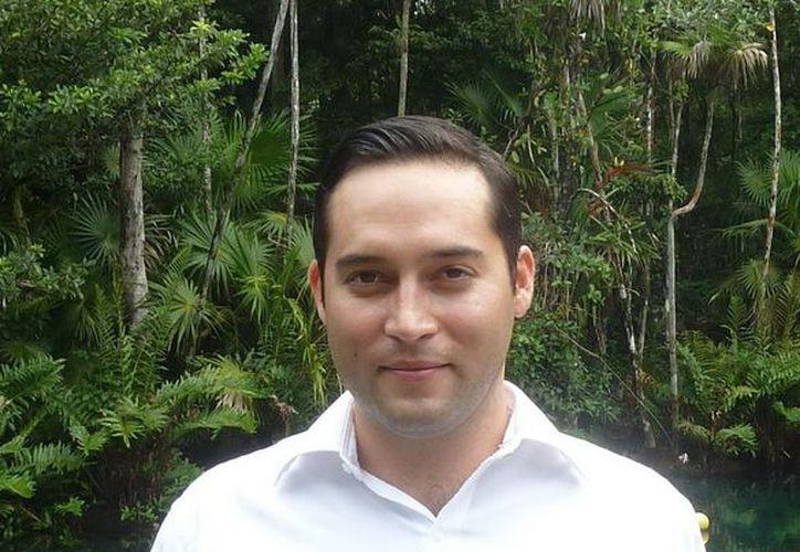 El secretario de Ecología y Medio Ambiente, Raúl González Castilla. (Cortesía/SIPSE)