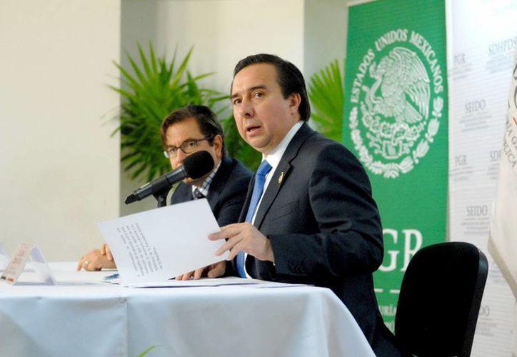 Tomás Zerón, director de la Agencia de Investigación Criminal de la PGR, dijo que la banda trasnacional desmantelada en la Ciudad de México era liderada por israelíes y mexicanos. (Notimex/Foto de archivo)