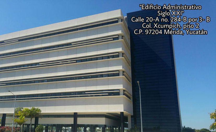 Imagen del nuevo Edificio Administrativo Siglo XXI. (Gobierno del Estado)