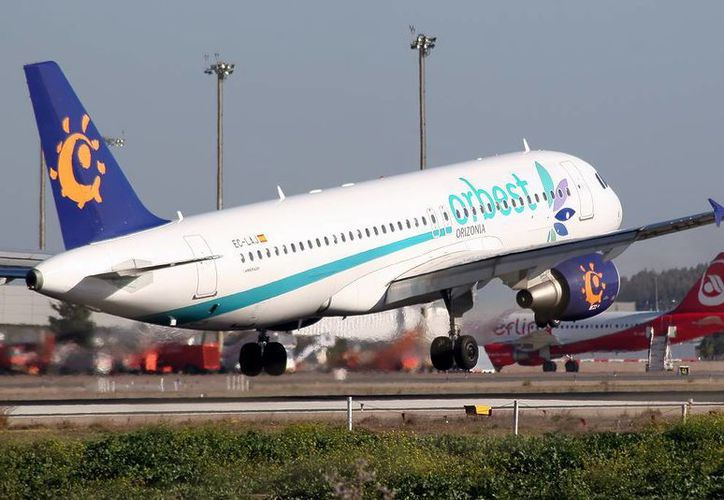 A pesar de la quiebra que registra el grupo Orizonia no se presentó ningún problema con los pasajeros de Orbest. (Redacción/SIPSE)