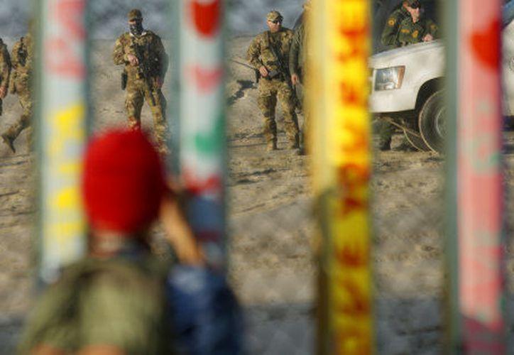 El presidente de Estados Unidos, Donald Trump, anunció que hará una visita a la frontera con México. (Getty Images)