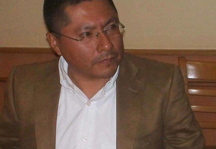 El destituido dirigente del PRD en Veracruz, Juan Vergel, desconoció el consejo que le quitó el poder. (veracruzalmomento.blogspot.com)