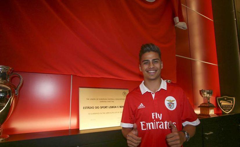 El Benfica anunció la contratación de Paolo Medina. (Benfica).