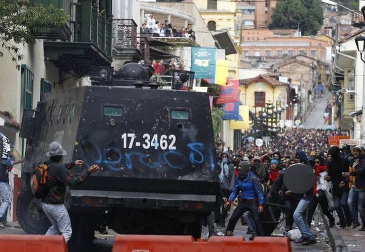 Al menos 66 manifestantes han sido detenidos en lo que va de la huelga. (Agencias)