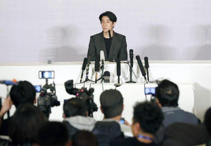 Visiblemente arrepentido, Jaycee Chan dijo que su familia le ha exhortado a no repetir el mismo error. (EFE)