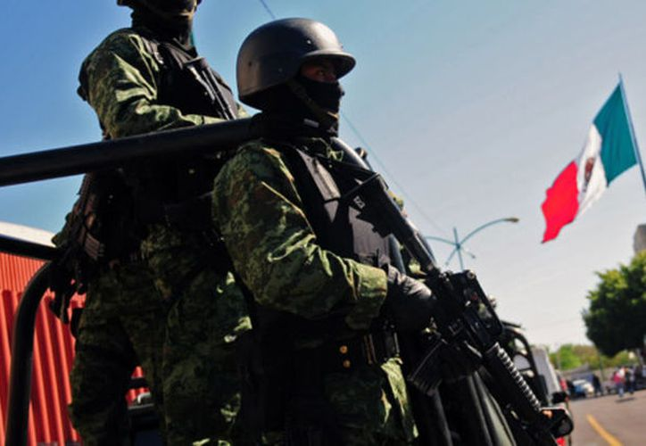 Los militares actuarían como una sustitución de la policía por las calles. (Contexto/Internet).