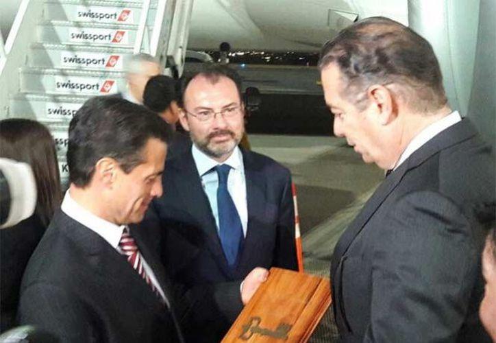 La agenda más emblemática que debe atender Mesoamérica es la migración, afirmó el presidente Enrique Peña Nieto ante presidentes de la región. (Cuarto Oscuro)