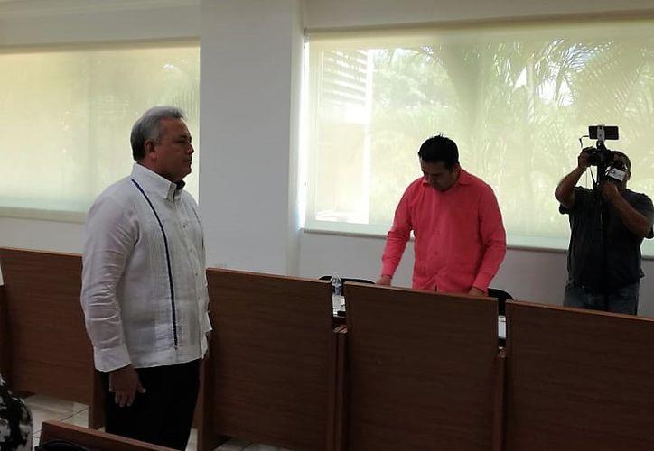 Luis Eduardo Anica Rodríguez rindió protesta ayer como secretario técnico de la Secretaría Ejecutiva del Sistema Estatal Anticorrupción (SEA) de Quintana Roo.  (Benjamín Pat/SIPSE)