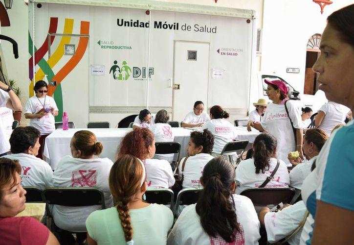 El DIF Yucatán reforzará sus programas contra las enfermedades femeninas. (Milenio Novedades)
