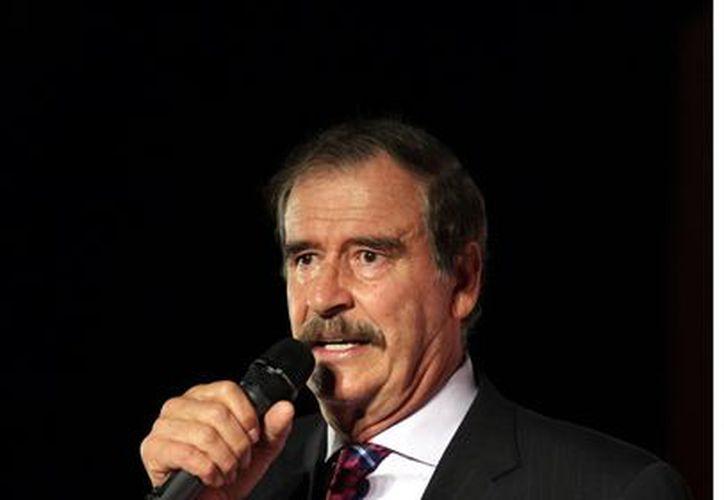 Para Vicente Fox, el PRI y Enrique Peña Nieto están listos para regresar al poder. (Agencia Reforma)