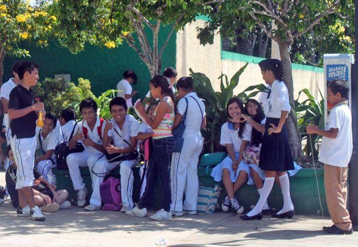 Además del seguro escolar, la SEQ cuenta con un convenio con la secretaría de salud, para que en caso de accidente, los alumnos fueran atendidos en los hospitales generales bajo su jurisdicción. (Juan Palma/SIPSE)