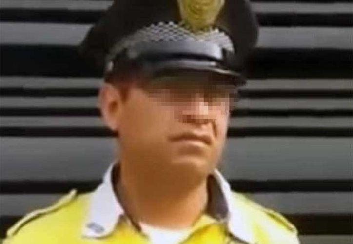 Las autoridades capitalinas abrieron una carpeta de investigación a todos los elementos involucrados en el video. (Captura de pantalla)