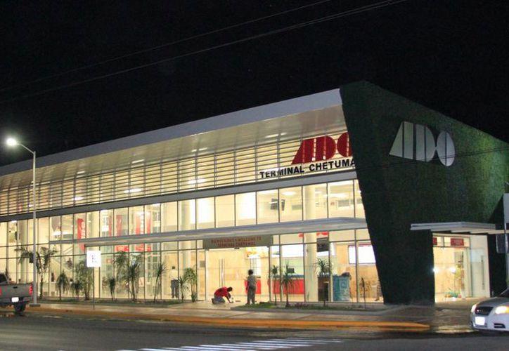 Nueva terminal del ADO en Chetumal tendrá paneles solares y reciclado de agua. (Redacción/SIPSE)
