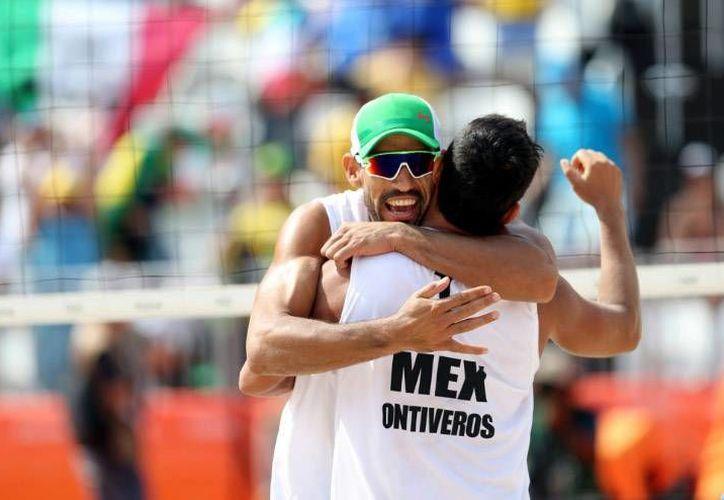La dupla mexicana buscará vencer a Brasil, en esta edición de los Juegos Olímpicos. México venció a los brasileños en los Juegos Panamericanos 2015.(Foto tomada de Conade)