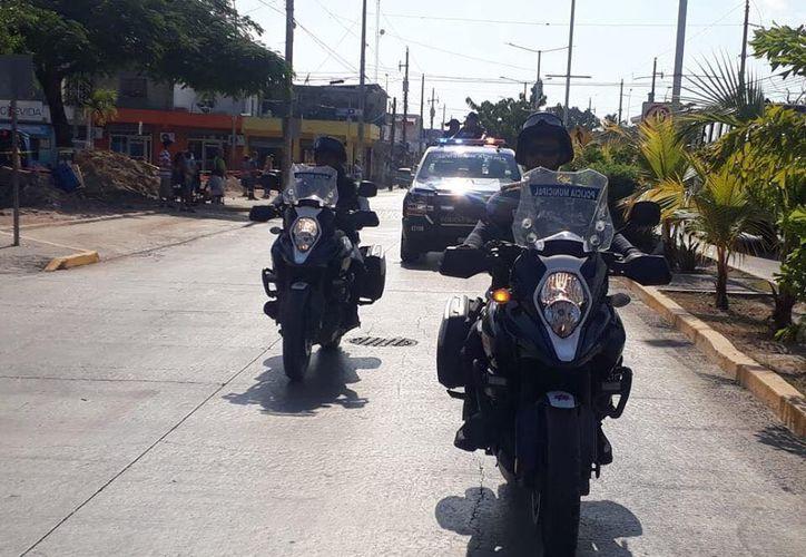 La dinámica de ese operativo será encabezada por la Policía Municipal. (Adrián Barreto/ SIPSE)