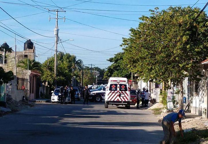 El asesinato se registró en un domicilio, ubicado en la Manzana 29, sobre la calle 97. (Redacción/SIPSE)