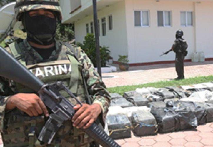 Las lanchas donde fue hallada la cocaína tenían como nombres  'Yesenina' y 'Charly I'. (excelsior.com.mx)