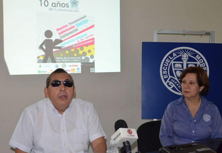 Autoridades de la universidad presentaron el evento.(Theany Ruz/SIPSE)