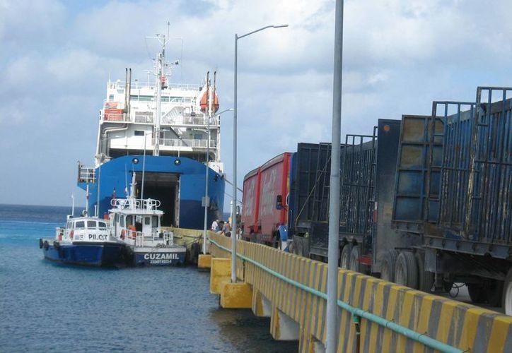Es la primera vez que el trasbordador de carga recibe esta certificación. (Marco Do Castella/SIPSE)