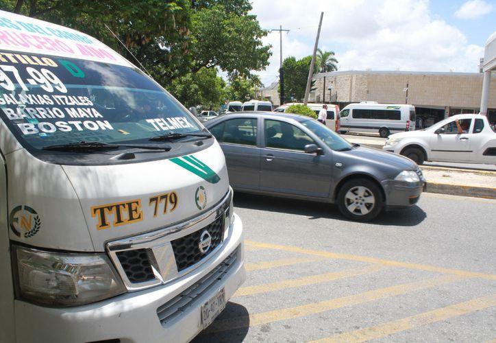 Aún sin fecha definida para que arranque el desplazamiento de las camionetas TTE hacia las regiones. (SIPSE)