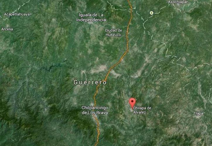 Seis de los muertos en Chilapa, Guerrero, eran civiles armados y uno más era un agente estatal. (Google Maps)